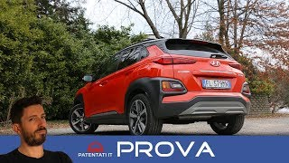 Hyundai Kona: video test drive della 1.0 T-GDI 120CV