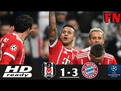 Download BESIKTAS vs BAYERN MUNICH 1-3 All Goals & Extended UEFA Champions League HD 15/03/2018