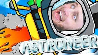 ASTRONEER | SHUTTLE TO THE MOON!! [3] thumbnail