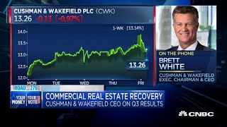 Cushman & Wakefield CEO on commercial real estate recovery, third-quarter results