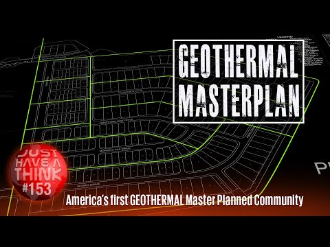 Geothermal Energy meets Master Planned Communities :  A blueprint for the future?