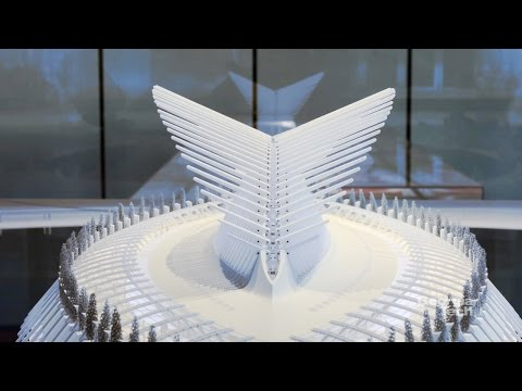 Santiago Calatrava - models in motion