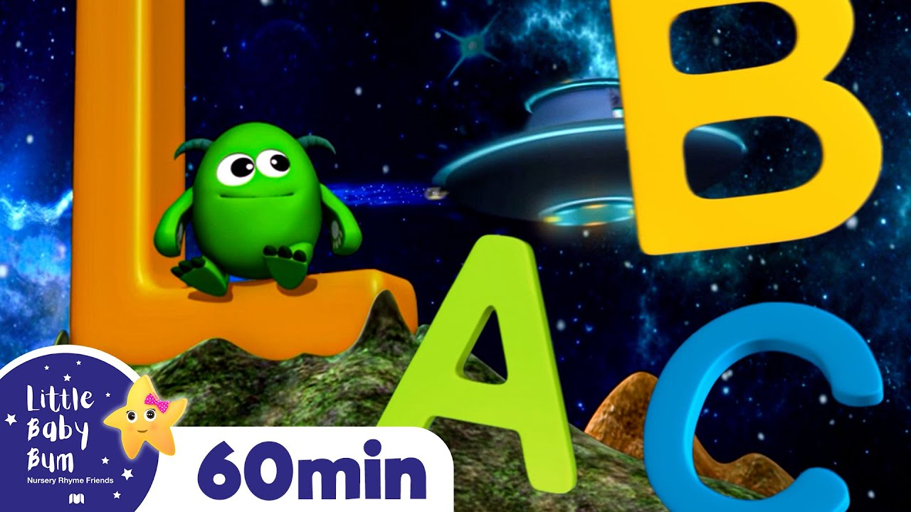 Learn ABC - The Alphabet Song +More Nursery Rhymes and Kids Songs | ABC and 123 | Little Baby Bum