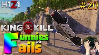 YOU'LL NEVER DRIVE A JEEP AGAIN AFTER SEEING THIS...| H1Z1 KOTK - Funnies and Fails Ep. 20
