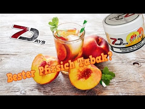 7 Days - Cold Peach | Bester Pfirsich Tabak?! | Tabakreview