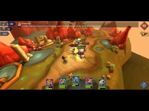 Lords Mobile - F2P Elite Hero Stage 6-6 Walkthrough