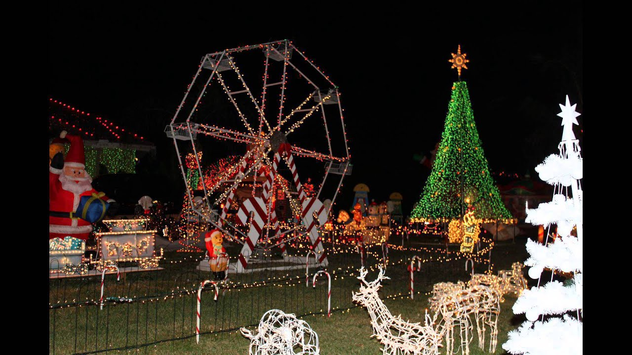 Ferris Wheel Christmas Decoration Outdoor
