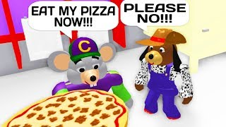 CHUCK E CHEESE TROLLING IN ROBLOX!