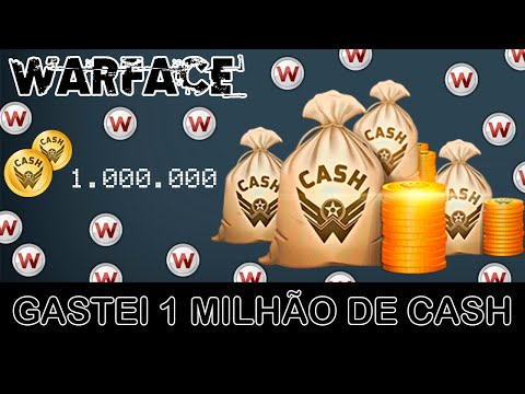 WARFACE - GASTEI 1 MILHÃO DE CASH