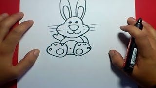 Como dibujar un conejo paso a paso 5 | How to draw a rabbit 5