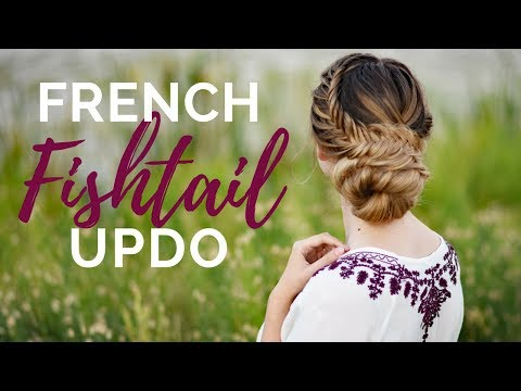 French Fishtail Updo | Braids By Jordan