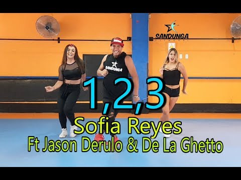 1, 2, 3 - Sofia Reyes Ft Jason Derulo & De La Ghetto / Zumba / Coreografia Sandunga