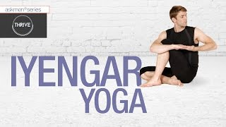 Yoga styles for men: iyengar