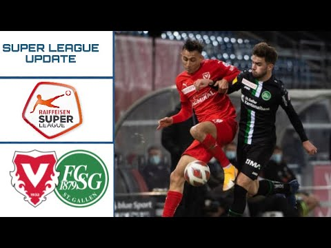 Vaduz St. Gallen Goals And Highlights