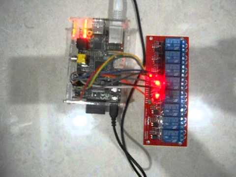 Download Raspberry PI Control Relay 8 Channel