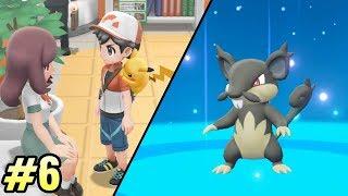 TENGO MI PROPIO RATTATA DE ALOLA 💥 Pokémon Let's Go #6