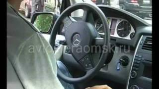 Mercedes - Benz - B-Class автопарковка(Автосфера Омск, рассказывает Василий Залознов., 2010-07-12T08:47:34.000Z)