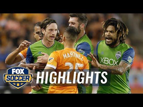 Houston Dynamo vs. Seattle Sounders FC   2017 MLS Playoff Highlights