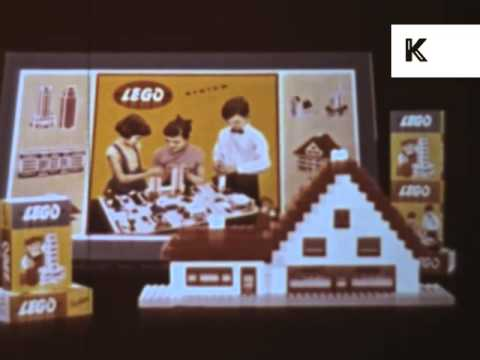 1950s/ 1960s Lego Advert, Vintage Commercial, Archive Footage