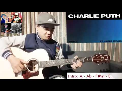 Change By Charlie Puth Feat James Taylor Easy Guitar Chords