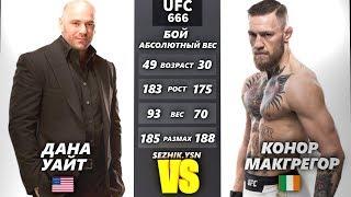 UFC БОЙ Дана Уайт vs Конор Макгрегор (com.vs com.) 3 steam kay