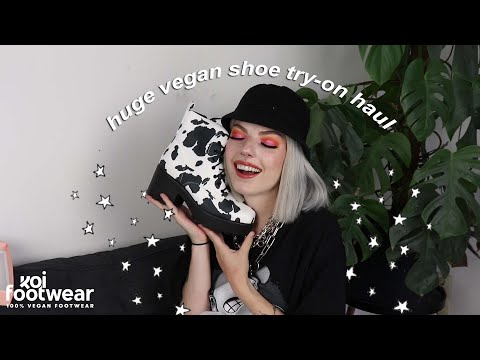 A Huge Vegan & Affordable Shoe Haul ☆ Koi Footwear ☆