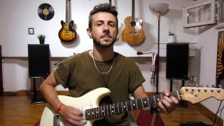 Mary Had a Little Lamb - Stevie Ray Vaughan - Guitar Cover by Pasquale Capobianco