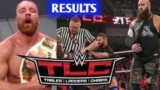 WWE TLC 17 December 2018 Full Highlights & Results !! Kurt Angle Return !!