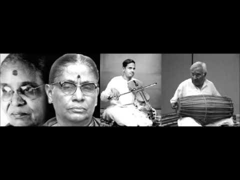 Brinda-Mukta, Annnavarappu Ramaswami,  Karaikudi Krishnamurthi - 1965- Music Academy