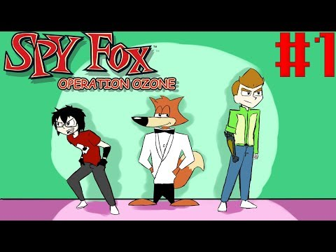 HI! MY NAME IS BITCH!!! | Spy Fox 3: Operation Ozone Part 01 | Bottles and Mikey G play |