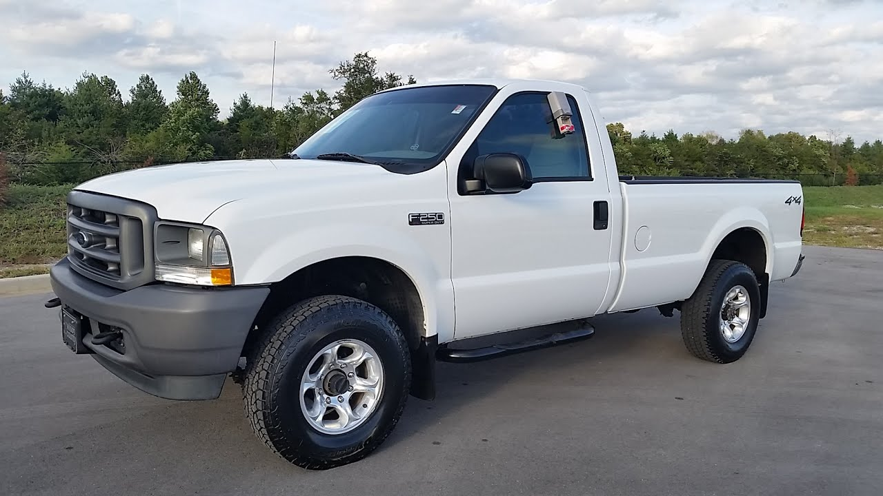 Sold 2003 ford f 250 super duty regular cab 4x4 112k 5 8 v 8 5spd for sale 855 507 8520
