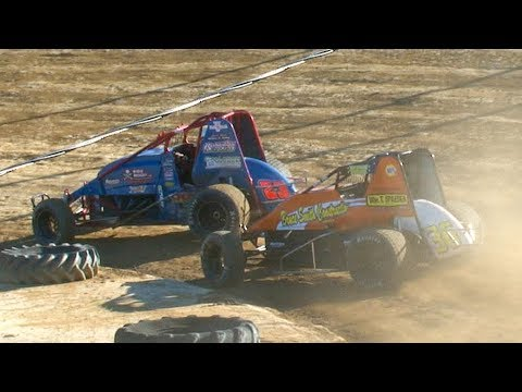 RUSH Sprint Car Heat Two | Old Bradford Speedway | 6-30-19