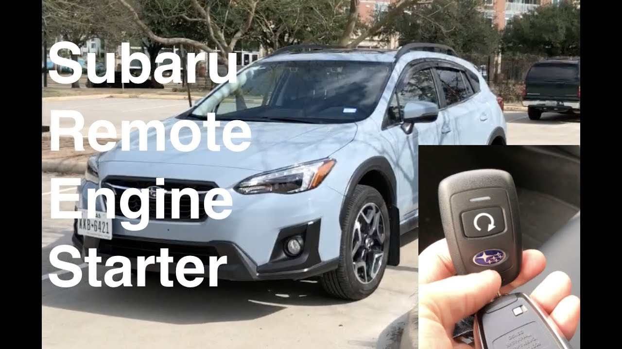 Subaru Remote Engine Start Factory Option