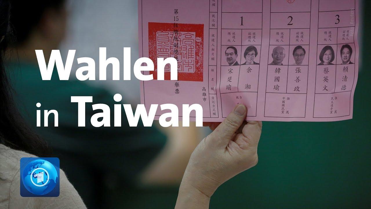 Download Taiwan wählt: Sieg von Präsidentin Tsai könnte Peking ärgern