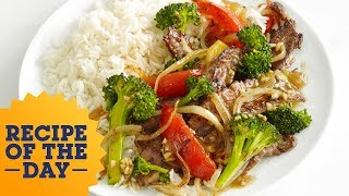 Chinese Beef with Broccoli | Food Network