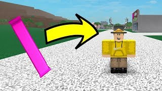 What Happens When You Eat A (RARE) Pink Candy Bar In Roblox Lumber Tycoon 2