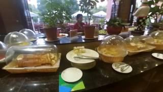Санья, Китай | Завтрак в отеле Yuhai International Rezort. Остров Хайнань.
