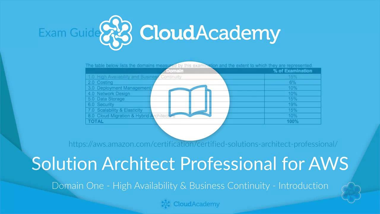 Solution Architect Professional for AWS - High Availability, Scalability  and Business Continuity