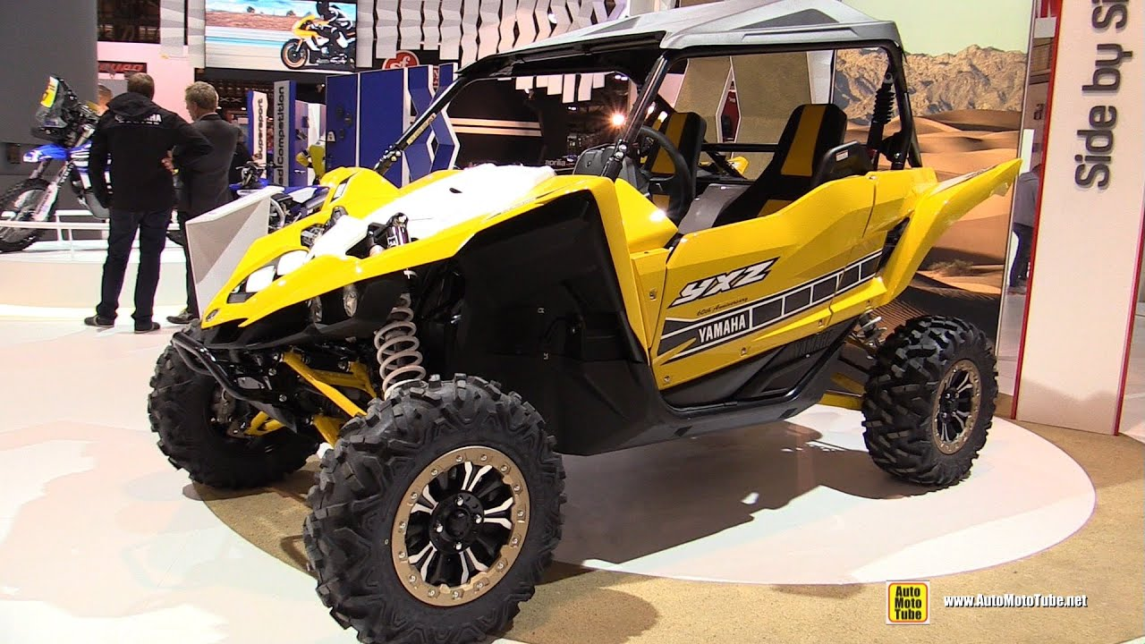 2016 yamaha yxz1000r 60th anniversary side by side atv walkaround 2015 eicma milan youtube. Black Bedroom Furniture Sets. Home Design Ideas