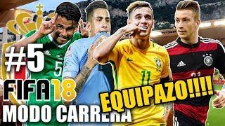 EL NUEVO MONACO!!! MENUDO EQUIPAZO!!! - FIFA 18 Modo Carrera #5
