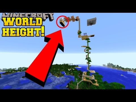 Thumbnail: I BUILT THIS TREE HOUSE UP TO WORLD HEIGHT!!!