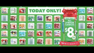 Bath & Body Works $8 candle HAUL 2014 Thumbnail