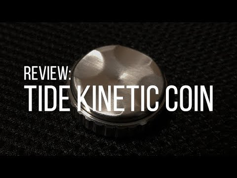 Honest Review: Tide Kinetic Worry Coin by Finetic EDC