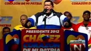 9 Ago 2012 Hugo Chávez en Vargas