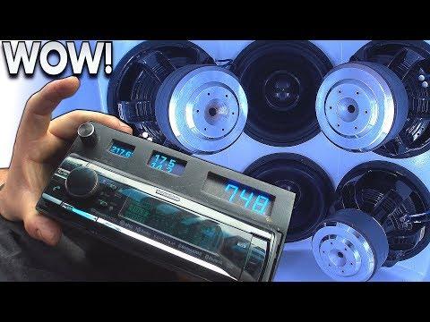 OVERKILL Car Audio Install... BREAKS GLASS Windshield!!! Sundown Subwoofers & Insane LOUD BASS Songs