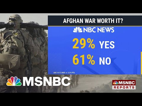 NBC News Poll: Biden Approval Ratings Drop Below 50 Percent Amid Afghanistan Crisis