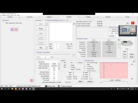 How to Do Biofeedback Scan with GeneratorX
