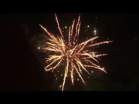 Jorge Platinum series - Show Box II - 158 shots Fireworks - fuochi d'artificio capodanno 2017