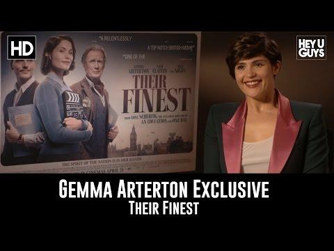 Gemma Arterton Exclusive Interview - Their Finest