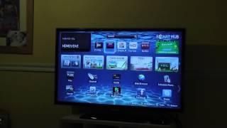 "Samsung Smart Hub and SmartView Demo - UE32ES5500 Full HD 32"" LED TV"